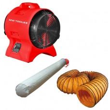 MV200PP Комплект преносим вентилатор