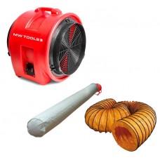 MV400PP Комплект преносим вентилатор