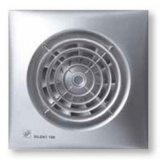 SILENT-100 CHZ SILVER bathroom ventilator